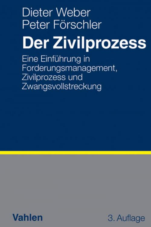 Der Zivilprozess cover