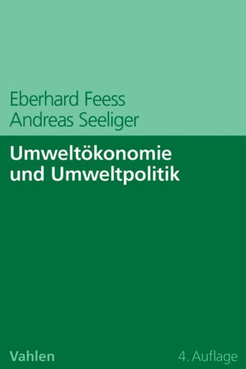 Umweltökonomie und Umweltpolitik cover