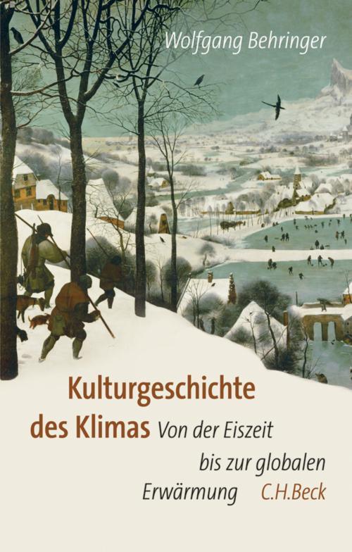 Kulturgeschichte des Klimas cover