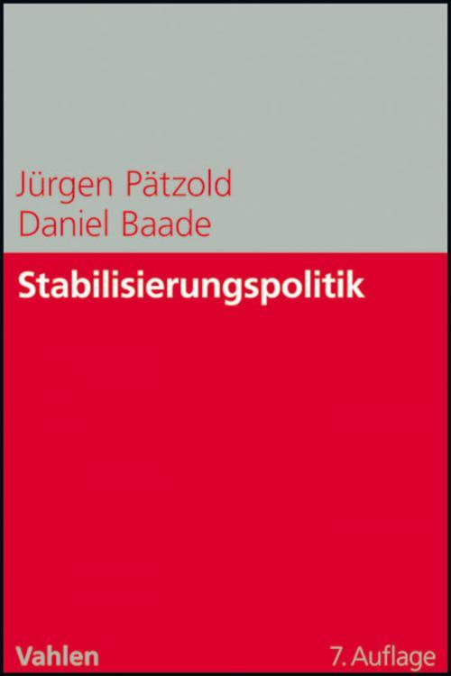Stabilisierungspolitik cover