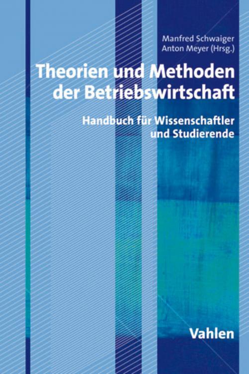 Theorien und Methoden der Betriebswirtschaft cover