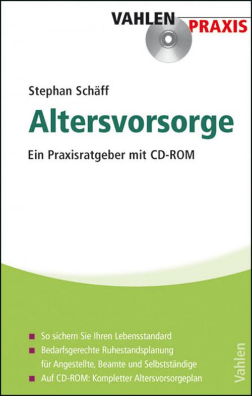 Altersvorsorge cover