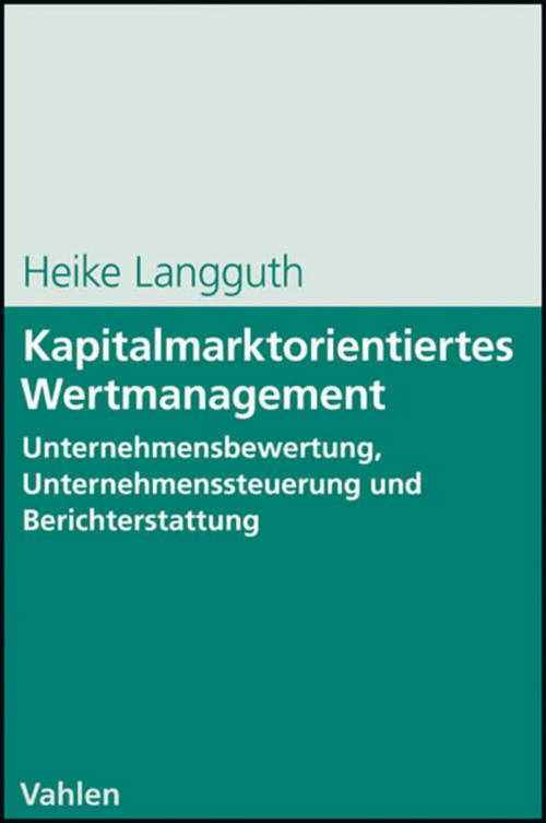 Kapitalmarktorientiertes Wertmanagement cover