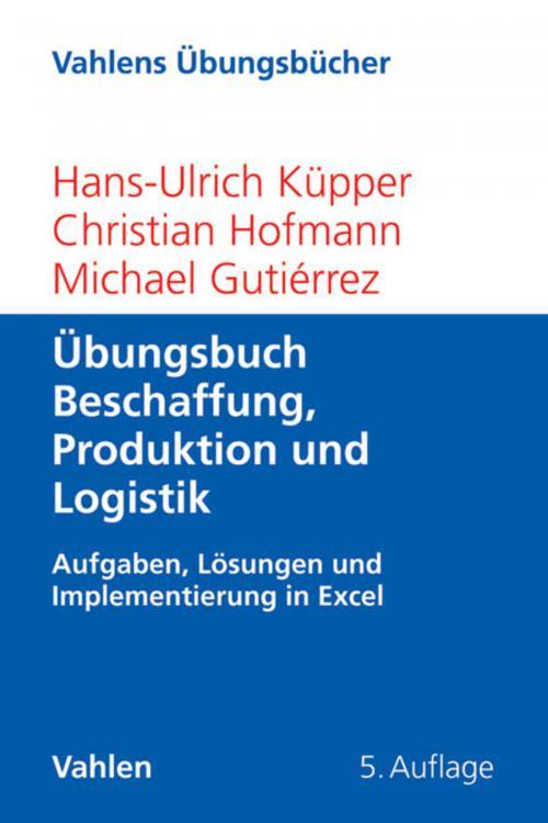Übungsbuch Beschaffung, Produktion und Logistik cover