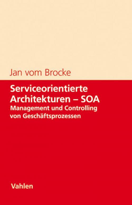 Serviceorientierte Architekturen - SOA cover