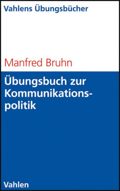 Übungsbuch zur Kommunikationspolitik cover