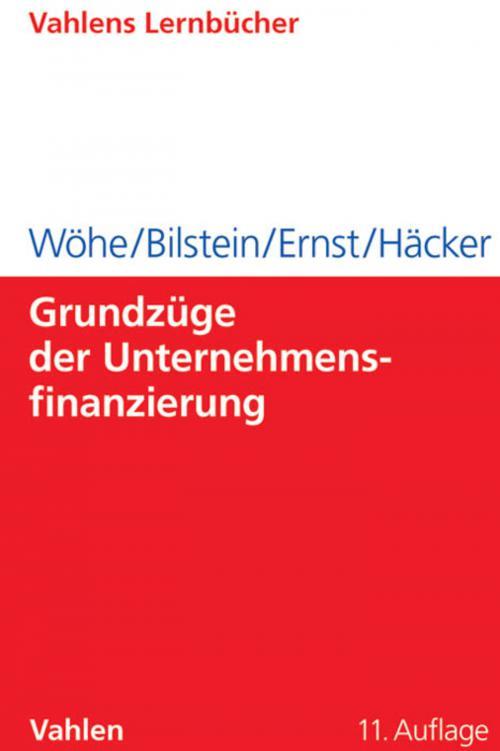 Grundzüge der Unternehmensfinanzierung cover