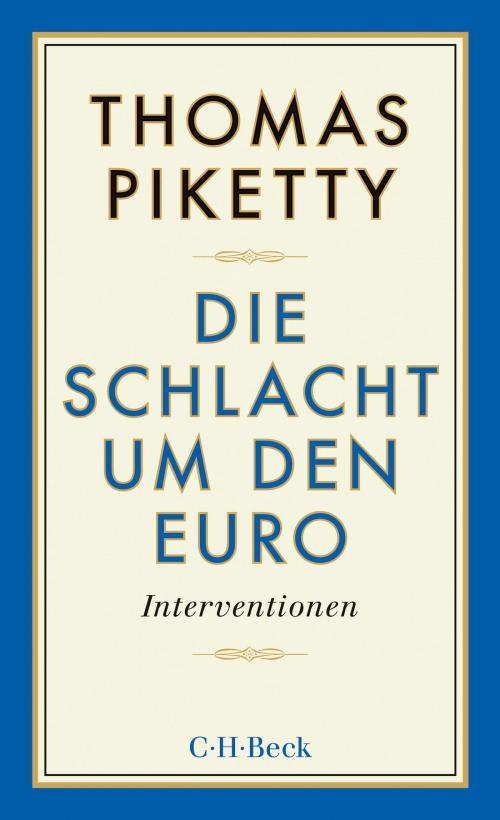 Die Schlacht um den Euro cover