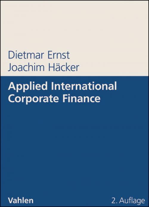 Applied International Corporate Finance cover