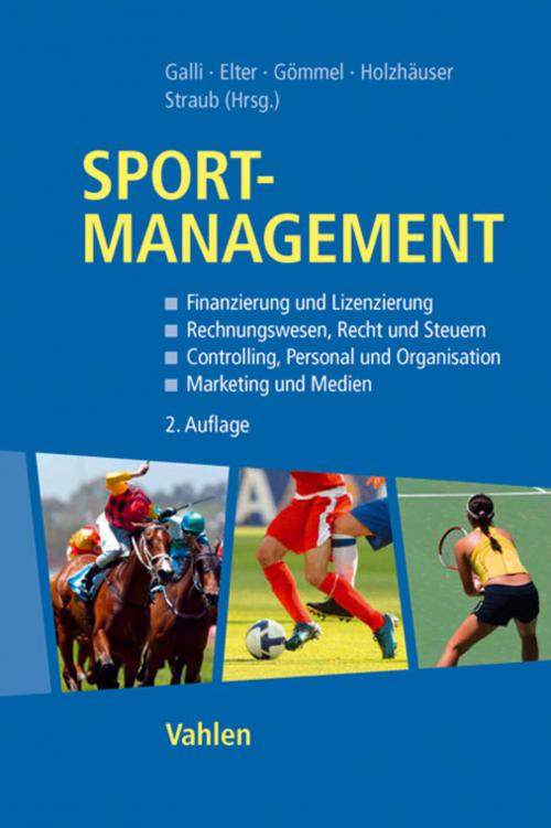 Sportmanagement cover