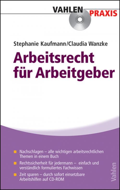 Arbeitsrecht für Arbeitgeber cover