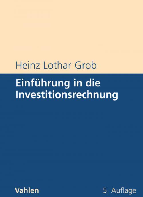 Einführung in die Investitionsrechnung cover