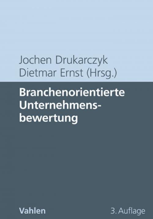 Branchenorientierte Unternehmensbewertung cover