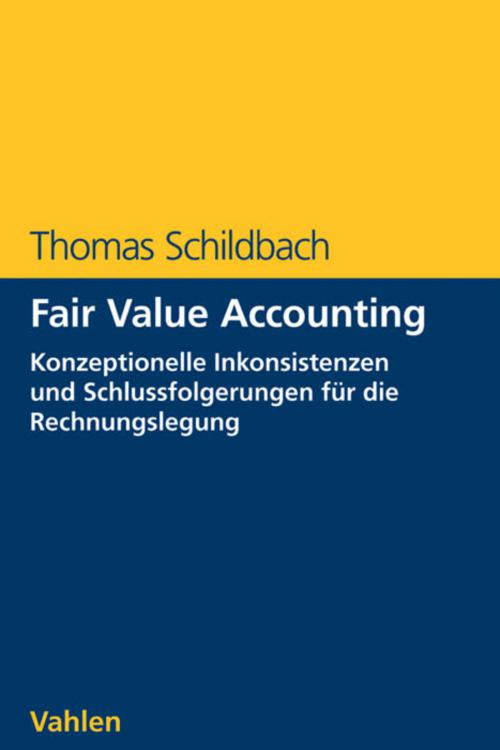 Fair Value Accounting cover