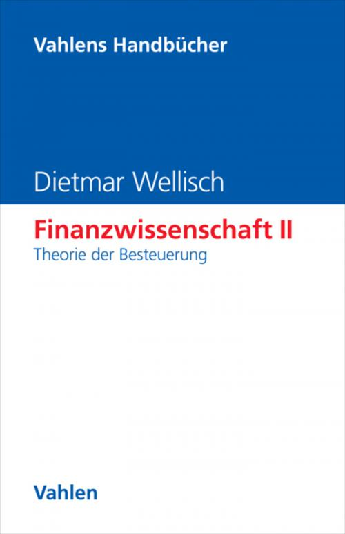 Finanzwissenschaft II: Theorie der Besteuerung cover