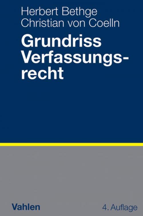 Grundriss Verfassungsrecht cover