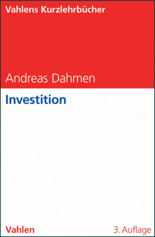 Investition cover