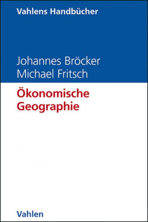 Ökonomische Geographie cover