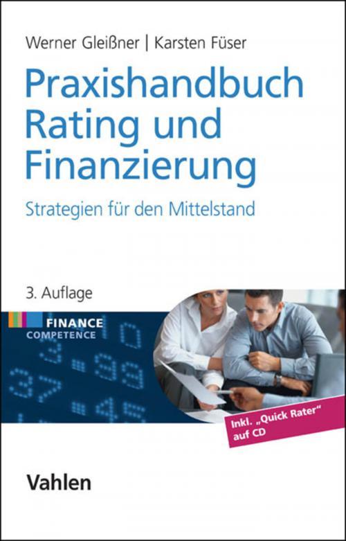Praxishandbuch Rating und Finanzierung cover