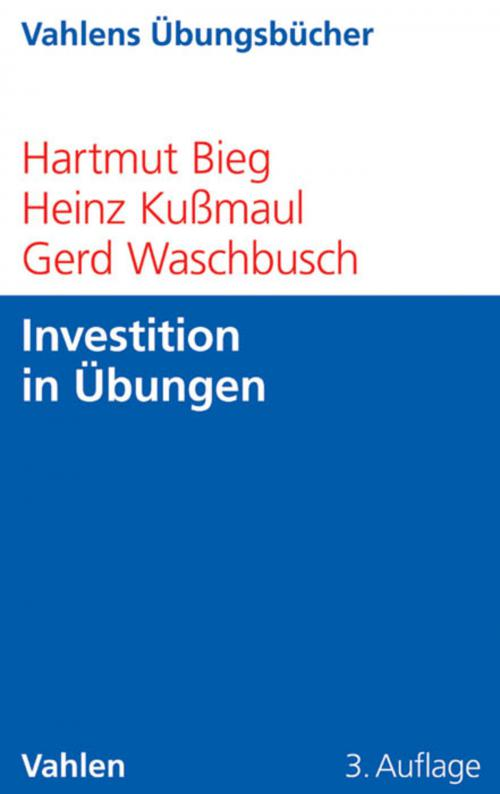 Investition in Übungen cover