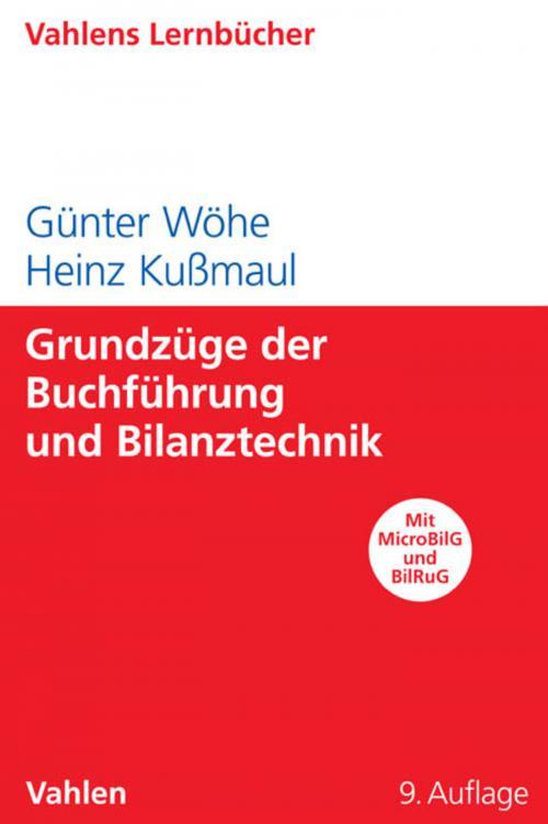 Grundzüge der Buchführung und Bilanztechnik cover