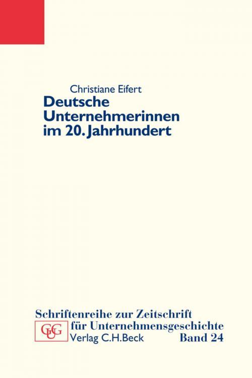 Deutsche Unternehmerinnen im 20. Jahrhundert cover
