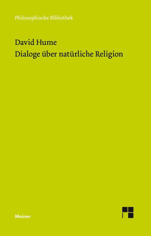 Dialoge über natürliche Religion cover