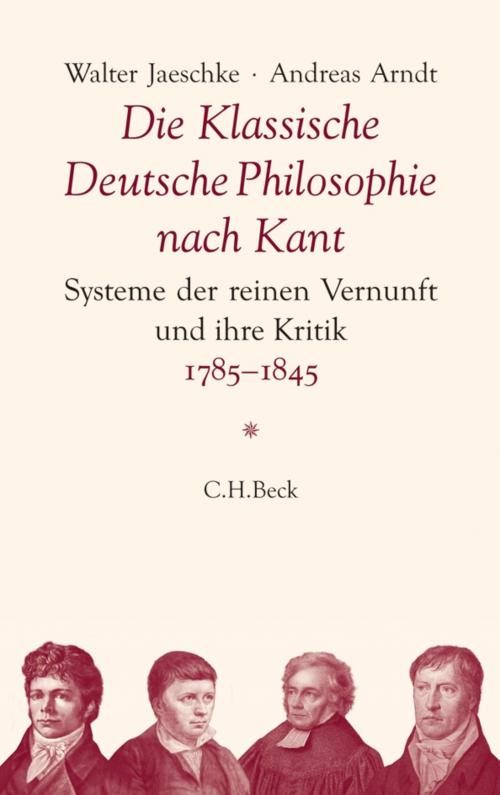 Die Klassische Deutsche Philosophie nach Kant cover