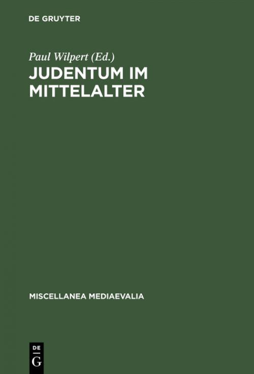 Judentum im Mittelalter cover