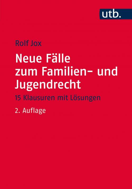 Neue Fälle zum Familien- und Jugendrecht cover