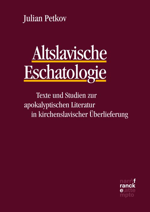 Altslavische Eschatologie cover