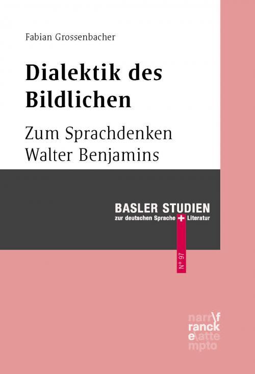 Dialektik des Bildlichen cover