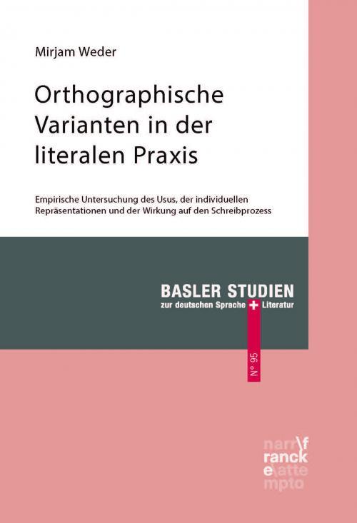 Orthographische Varianten in der literalen Praxis cover