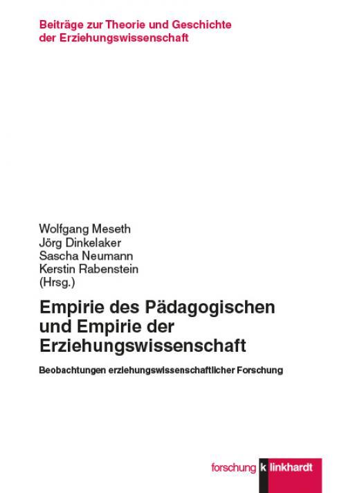 Empirie des Pädagogischen und Empirie der Erziehungswissenschaft cover