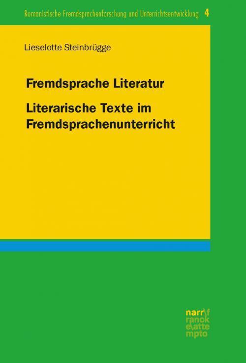Fremdsprache Literatur cover