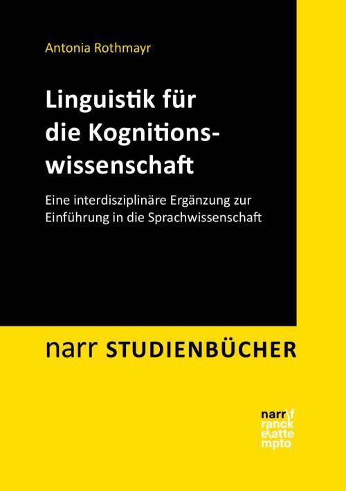 Linguistik für die Kognitionswissenschaft cover