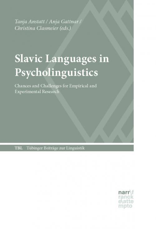 Slavic Languages in Psycholinguistics cover