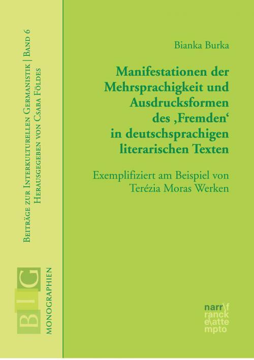 Manifestationen der Mehrsprachigkeit und Ausdrucksformen des 'Fremden' in deutschsprachigen literarischen Texten cover
