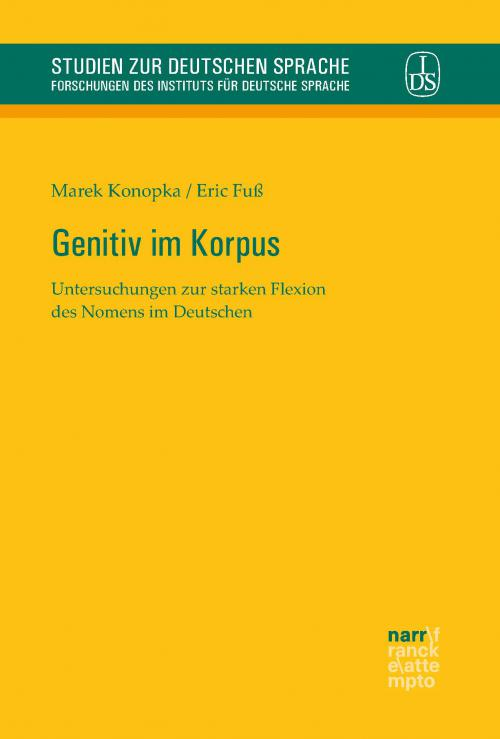 Genitiv im Korpus cover