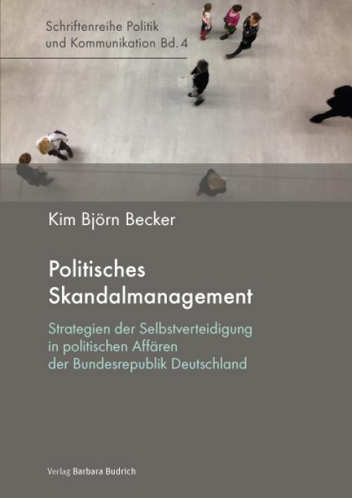 Politisches Skandalmanagement cover