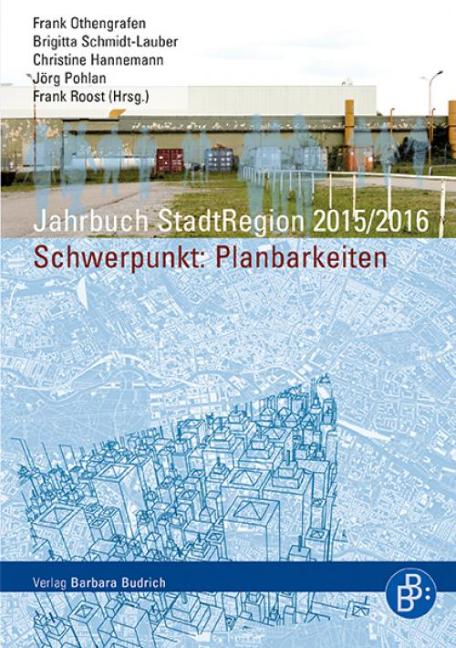 Jahrbuch StadtRegion. Schwerpunkt: Planbarkeiten cover