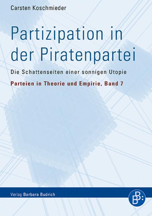 Partizipation in der Piratenpartei cover