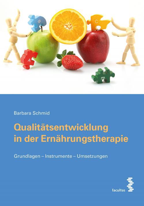 Qualitätsentwicklung in der Ernährungstherapie cover