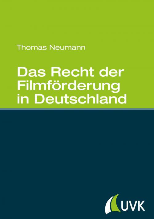 Das Recht der Filmförderung in Deutschland cover