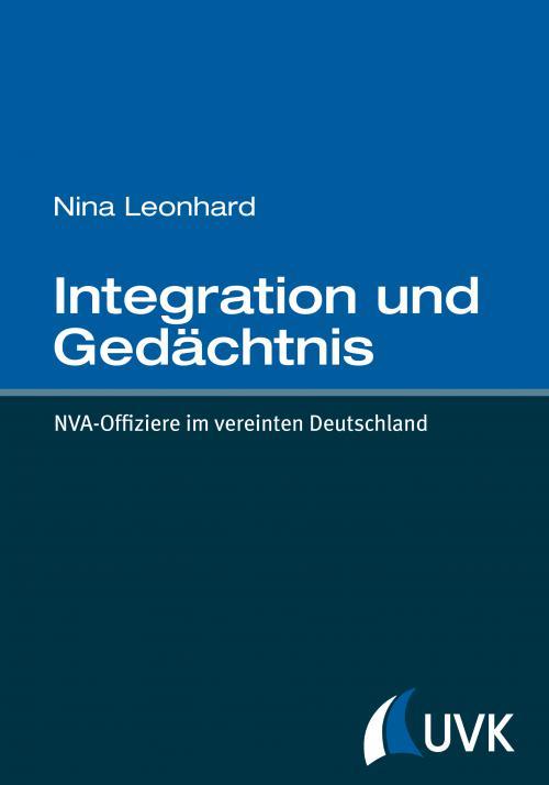 Integration und Gedächtnis cover