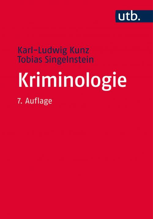 Kriminologie cover