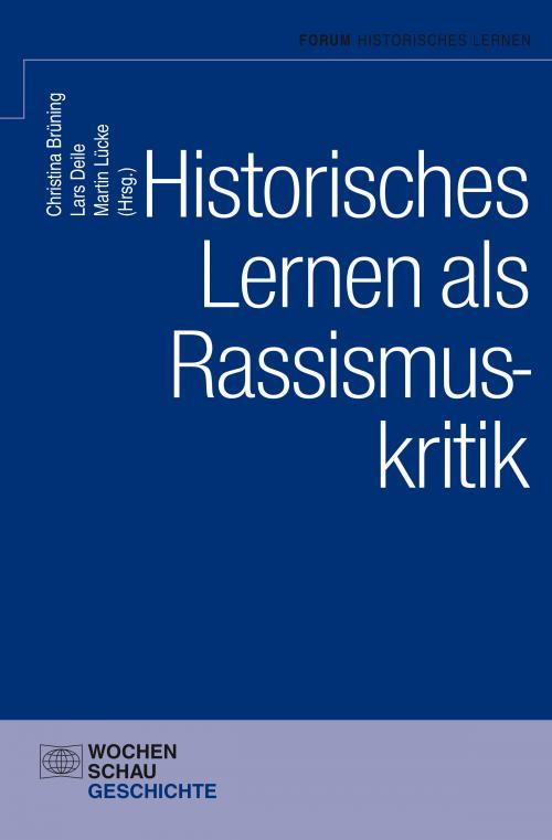 Historisches Lernen als Rassismuskritk cover