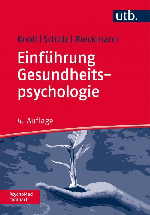 Einführung Gesundheitspsychologie cover