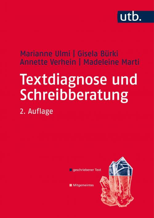 Textdiagnose und Schreibberatung cover