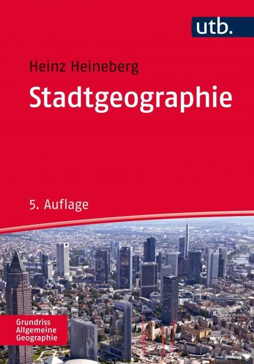 Stadtgeographie cover